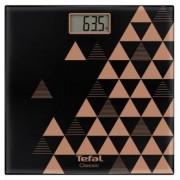 Cantar corporal Tefal Classic Scandic PP1151V0, 160kg (Negru/Maro)