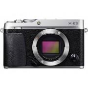 Fujifilm Systemkamera Fujifilm X-E3 silber Hus 24.3 Megapixel Silver