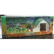 Country Life Large Farm Playset - Cows NewRay