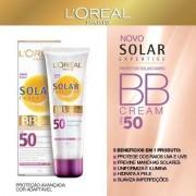 B.B Cream com Protetor Solar L'oreal Expertise FPS-50 com 50ml