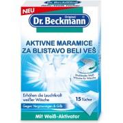 Aktivne maramice za blistavo beli veš 15/1, Dr. Beckmann
