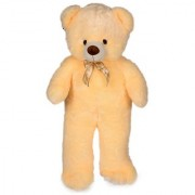 stuffed toy 5 feet soft and cute teddy bear- Cream