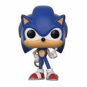 Pop! Vinyl Figura Pop! Vinyl Sonic con anillo - Sonic The Hedgehog