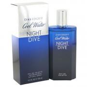 Cool Water Night Dive Eau De Toilette Spray By Davidoff 4.2 oz Eau De Toilette Spray
