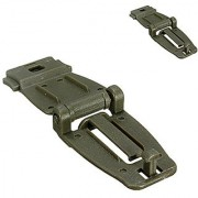 Futaba Molle Strap Backpack Webbing Connecting Buckle Clip - Army Green ( Pack of Two )