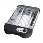 TRIBALSENSATION Stainless Steel Flat Bed Electric Toaster | Flatbed Toaster Griller