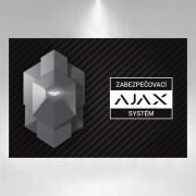 Výstražná samolepka AJAX smbz3001