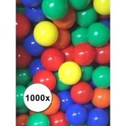 Geen 1000 stuks kinder ballenbak ballen super prijs