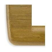 > Idea - placca Rondò in legno naturale 4 posti teak naturale