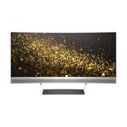 HP Home 34 UW-QHD Curved Screen LED LCD Monitor - 21:9 - Black, Silver