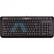 Клавиатура A4 KL-40 X-SLIM USB BLACK