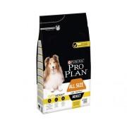 Hrana uscata pentru caini Pro Plan All Sizes Adult Light cu pui, 3 kg