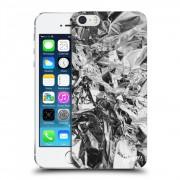 Műanyag átlátszó tok az alábbi mobiltelefonokra Apple iPhone 5/5S/SE - Chrome