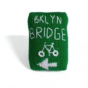 Estella Hand Knit Organic Cycle Brooklyn Bridge Rattle Baby Toy