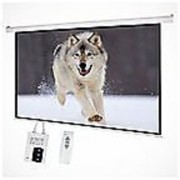 6x4 MOTORISED PROJECTOR SCREEN IN HIGH GAIN-GLASS BEADED FABRIC(INLIGHT MAKE)