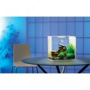 Set complet acvariu cu decoratiuni BiOrb Flow 15 litri LED, Alb