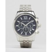 Michael Kors Серебристые часы с хронографом Michael Kors MK8280 Lexington