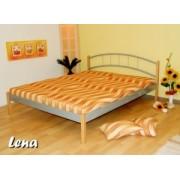 LE-07 NA kovová postel včetně matrace a roštu