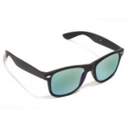 VESPL Wayfarer Sunglasses(Green)