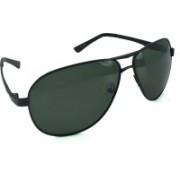 Polo House USA Aviator Sunglasses(Black)