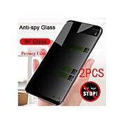 2pcs Samsung Protecteur d'écran Galaxy A90 / A80 / A71 5G / A51 4G A70s / A60 / A50 / A40 / A31 / A30 / A21 / A20E / A11 / A01 Protecteur d'écran avant Haute Définition (HD) Verre Trempé