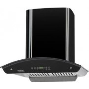 Hindware HIN AUTO BLK Wall Mounted Chimney(BLACK 1200 CMH)