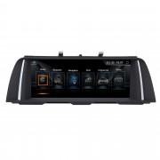 "Autoradio Android 10,25"" GPS BMW Serie 5 F10 F11 2011-2016 USB SD"