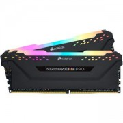 RAM Памет Corsair DDR4, 3200MHz 16GB (2 x 8GB) 288 DIMM, Unbuffered, 16-18-18-36, Vengeance RGB PRO black Heat spreader, RGB LED, CMW16GX4M2Z3200C16