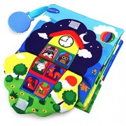 TEYTOY Baby Soft Activity 3D Learning Books My First Book Skills Soft Toy for 0-3 Year Old