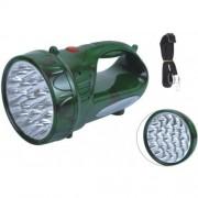 LED аварийна лампа 22+7 диода YJ-2807