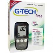 Kit Medidor de Glicose no sangue G-Tech Free 1