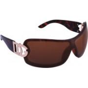 D&G Round Sunglasses(Brown)