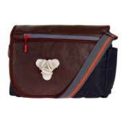 JG Shoppe ABCOS1076 Brown, Blue Sling Bag