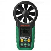 """""""mastech MS6252B 2.0 """"""""LCD anemometro de medidor de velocidad del viento digital - verde oscuro (1 x 9V)"""""""