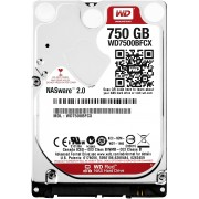 Western Digital WD Red, 2.5', 750GB, SATA/600, 16MB cache