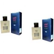OMSR Armyman Body Spray Perfume For Men combo of 2 100 ml