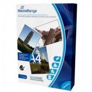 Хартия MediaRange DIN A4 Photo Paper за мастилено-струйни принтери, high-glossy coated, 160g, 100 sheets / страници