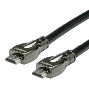 Cablu HDMI Ultra HD cu Ethernet T-T 15m, Roline 11.04.5686