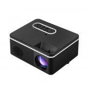 JEDX S316 Mini LED Handheld Projector Home Theater Projector Support 1080P - Black/UK Plug
