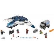 Lego Hämnarnas cityjakt med Quinjeten - Lego 76032 Super Heroes