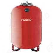 Vas de expansiune Ferro, 80L pentru apa calda, incalzire centrala cu montaj pe pardoseala