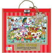 Innovative Kids Green Start Giant Floor Silly Circus Puzzles (60 Piece)