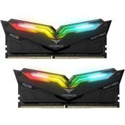 Memoria DDR4 16GB (2X8GB) 3200MHZ Teamgroup Night Hawk RGB negra, TF1D416G3200HC16CDC01