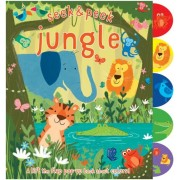 Seek & Peek Jungle: A Lift the Flap Pop-Up Book about Colors!, Hardcover