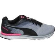 Puma Speed 300 IGNITE Wn Running Shoes For Women(Black, Blue)
