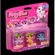 Set 3 figurine - Samantha Claire Alexis - Kitty Club