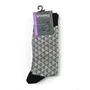 Traders Mens Grey Business Socks