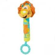 Бебешка Писукаща играчка с гризалка лъвче - 1359 Babyono, 9070187
