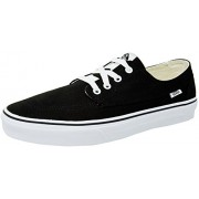 Vans Unisex Brigata Black and True White Sneakers - 9 UK/India (43 EU)