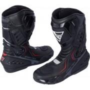 Modeka Speed Tech Motocyklové boty 46 Černá
